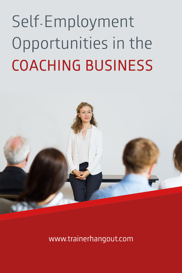 The coaching business is one of the most well paying and popular industries. Here are some great self employment opportunities in the coaching business.