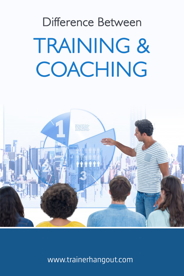 Training and coaching are two terms that are used interchangeably, but they're not synonyms. The two words hold different meanings and serve different purposes.