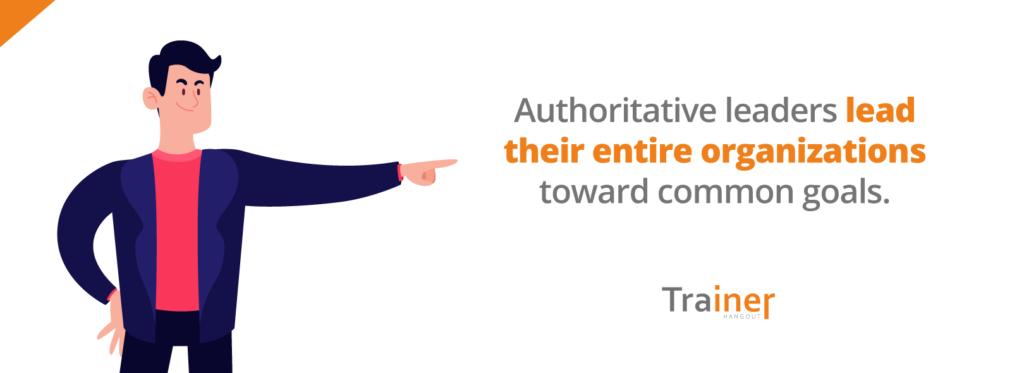 authoritative leaders