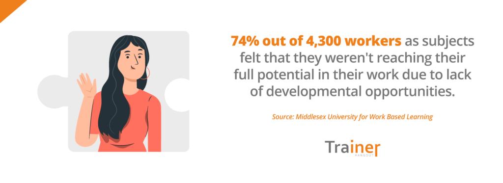 lack of developmental opportunities