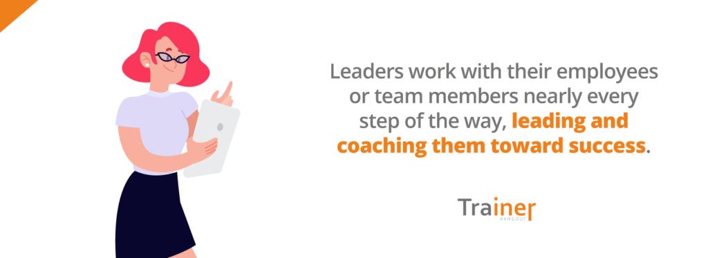 leading toward success