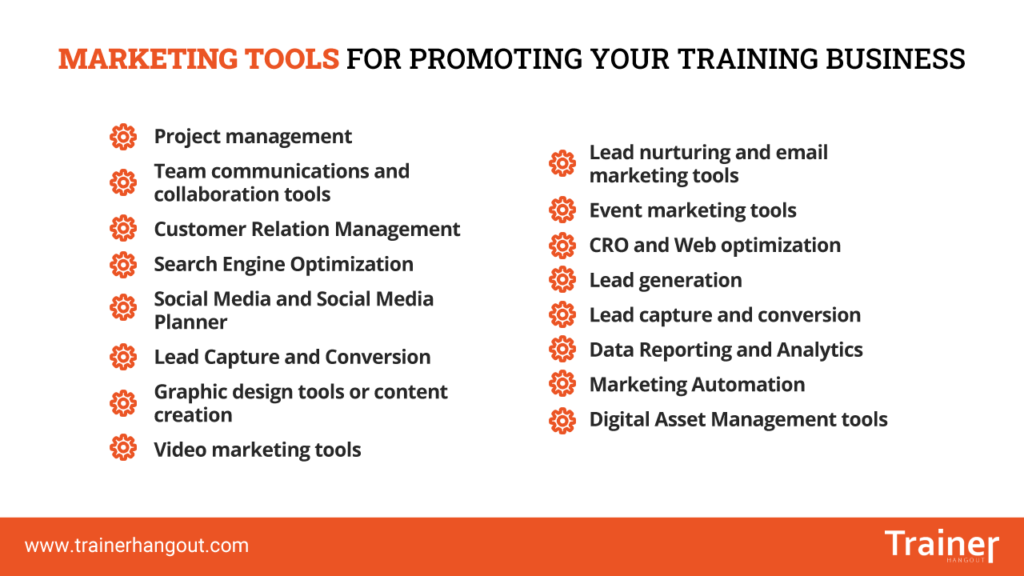 marketing tools for promotion
