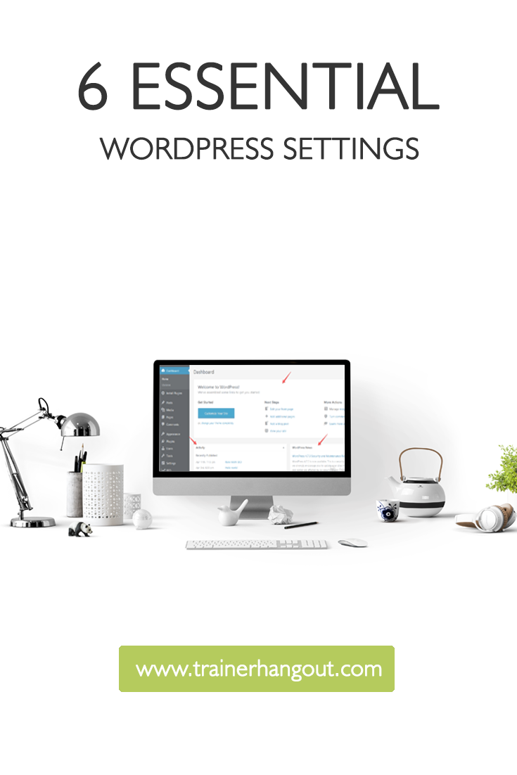 One of the most frequently asked questions by beginners is which are the most essential WordPress settings to start with while setting up a website or blog.