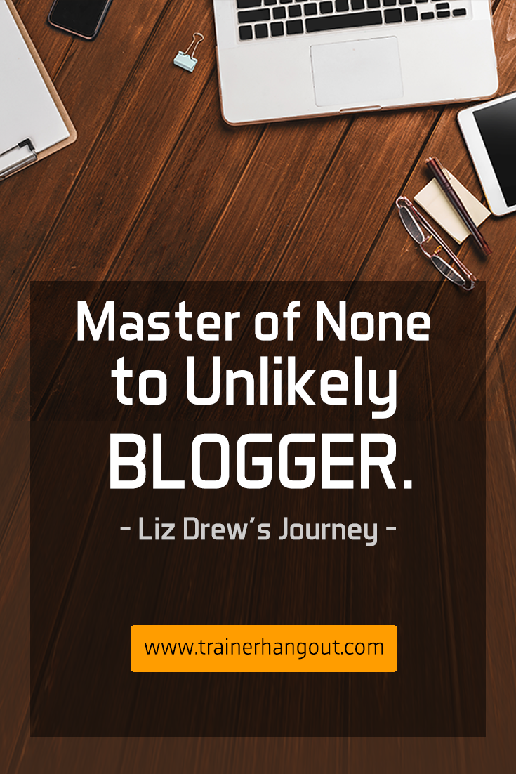 Liz Drew, calls herself an unlikely blogger. She's the editor of the House of Drews, home renovation and lifestyle blog team.