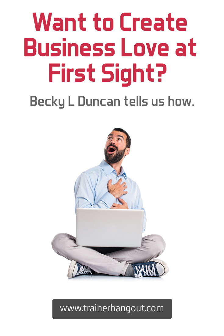 Becky L Duncan explains how she helps her clients quit their 9-5 jobs, land book deals, appear on TV, attract clients through business love at first sight.