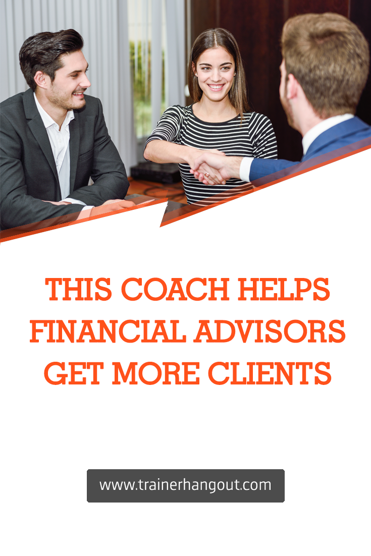 In an exclusive interview, James Pollard, a sales and marketing consultant for financial advisors tells us how he helps financial advisors find new clients.